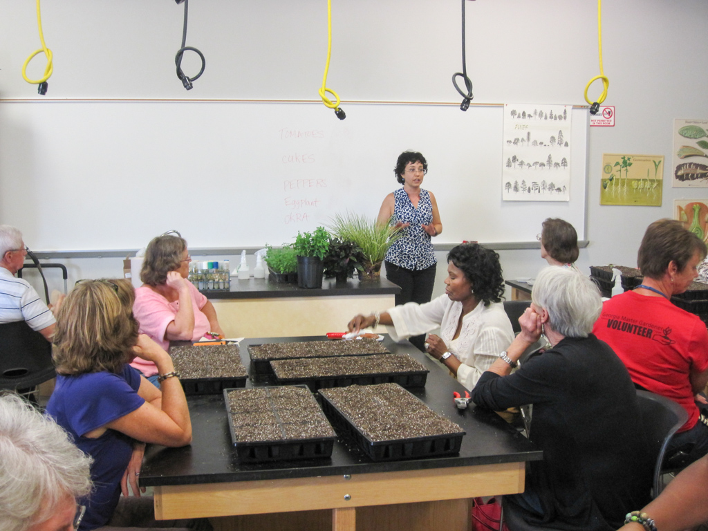 Hands on propagation with seeds, vegatative cuttings and tissue culture