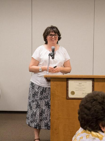 Speaker Sheri Dorn