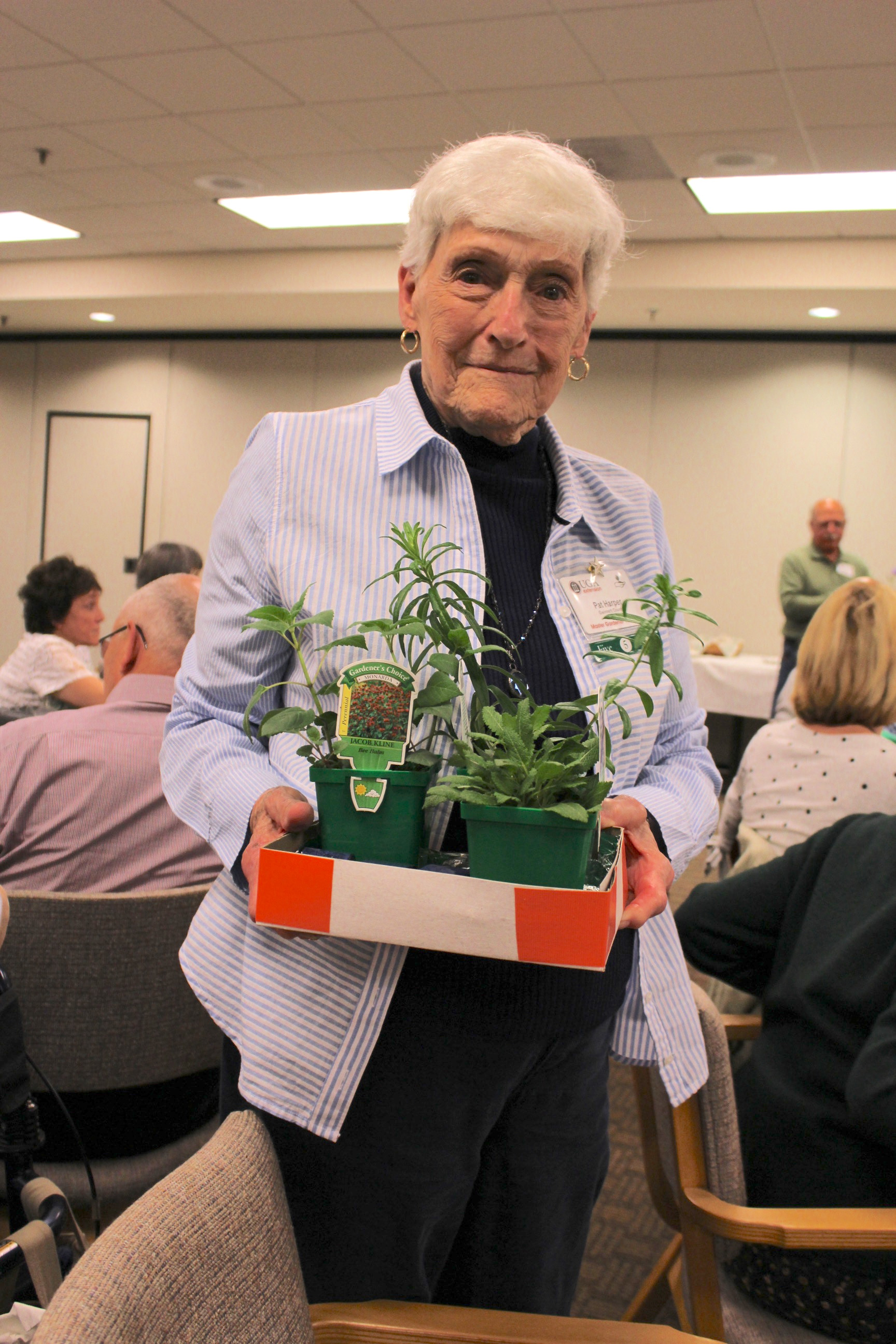 Raffle Winner #1 takes home assortment of native plants