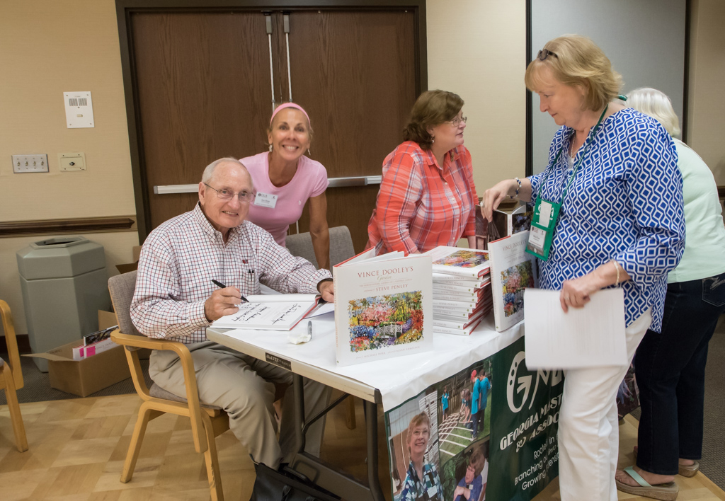 Vince Dooley book signing