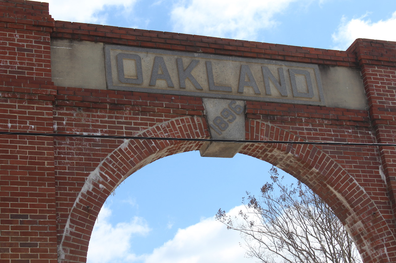 Oakland Cemetery Entrance