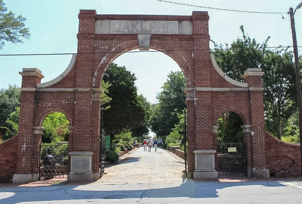 Oakland Cemetery Field Trip-June 2016