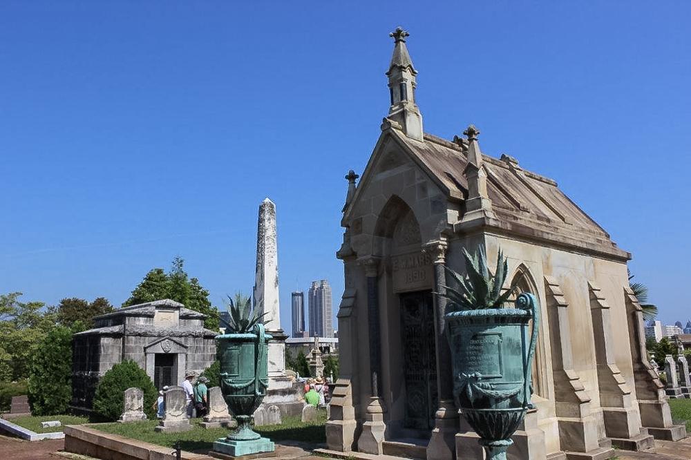 Oakland Cemetery Field Trip-June 2016