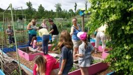 Lanier Community Garden Children Project